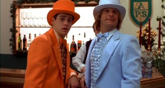 Harry and Lloyd in Dumb and Dumber.