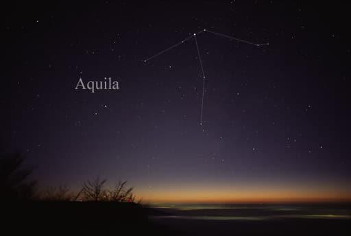 Scutum, Aquila, Capricornus