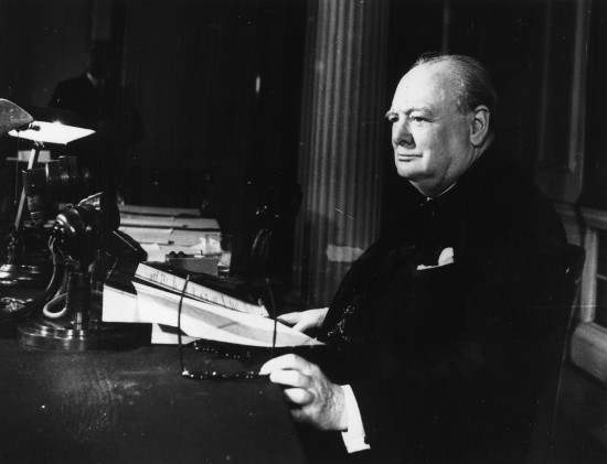 winston churchill speaking notes
