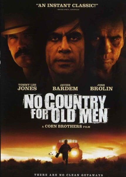 нет страны для стариков современный западный плакат