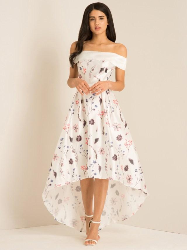 Chi Chi Pandora floral bardot Dress