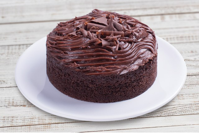 Mary Berry's death by chocolate cake (Finsbury Food Group/PA)