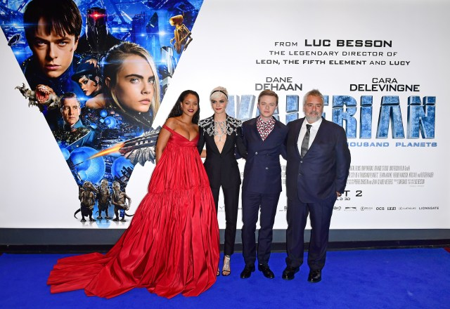 Luc Besson sees an Oscar in Cara Delevingne's future 2