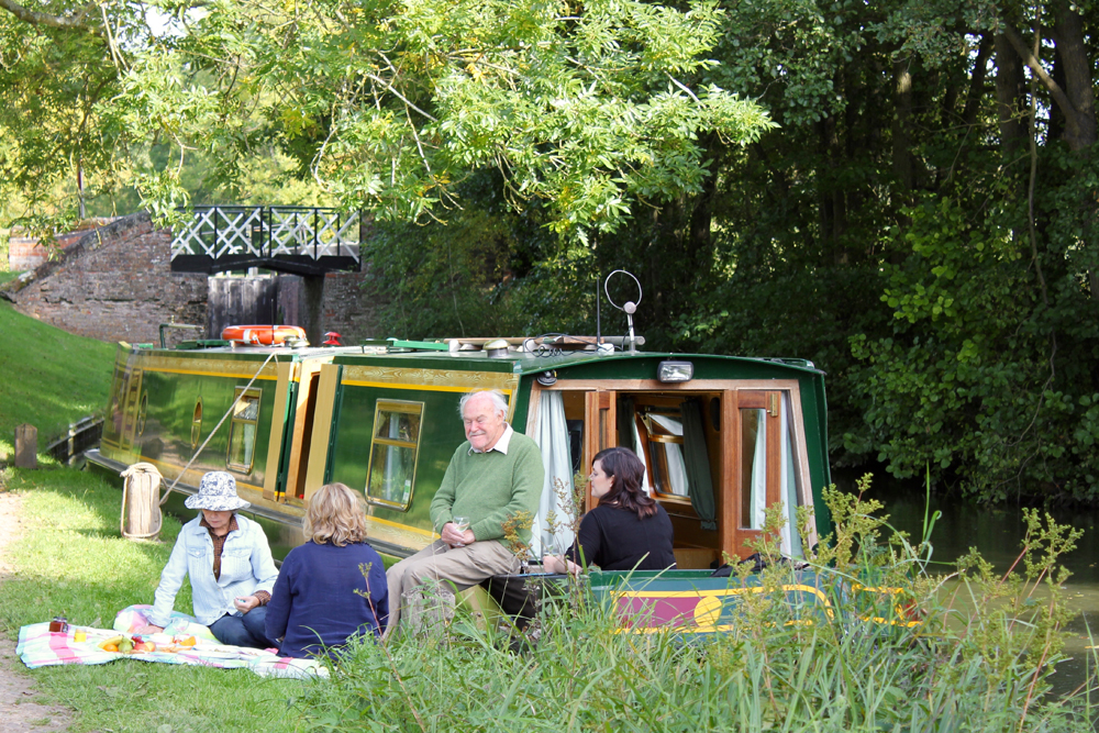 Family picnic at the water's edge. (Timothy West/PA)  Actor Timothy West's top 5 favourite canal journeys in Europe – including Scots one c5a4dbe3 e983 4dc9 b927 fefa9a9a4263