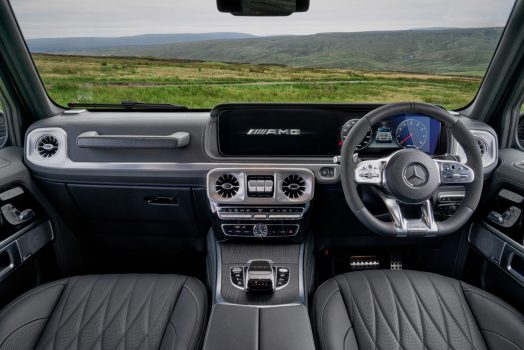 2018 Mercedes AMG G63 Review, dailycarblog.com. The interior of the G63 has been finished to a very high standard