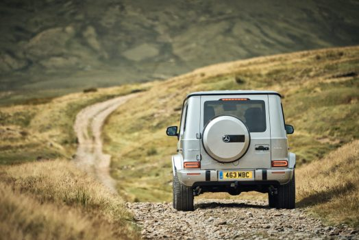 2018 Mercedes AMG G63 Review, dailycarblog.com. The G-Class has retained its classic silhouette