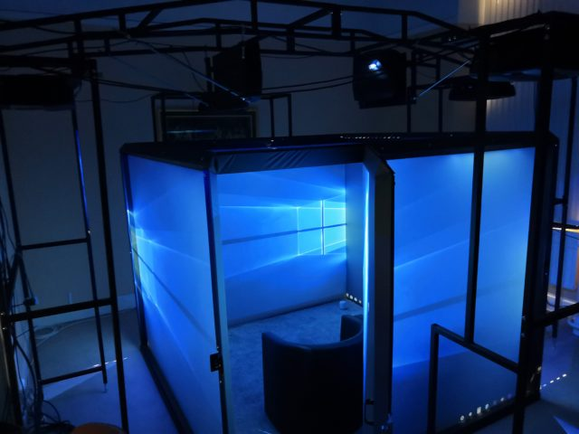 The Blue Room virtual reality suite (Third Eye NeuroTech and Newcastle University/PA)