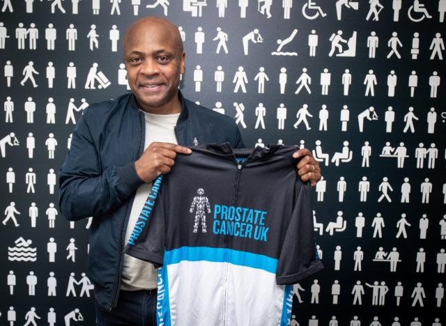 Paul Parker, Prostate Cancer UK ambassador (PA)