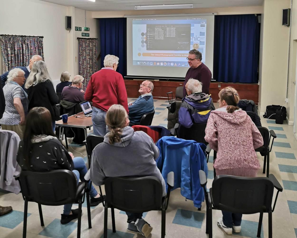 Camera club members gather in Llanelli