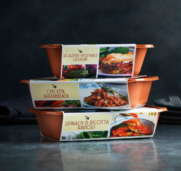 Marks & Spencer's new recyclable plastic packaging
