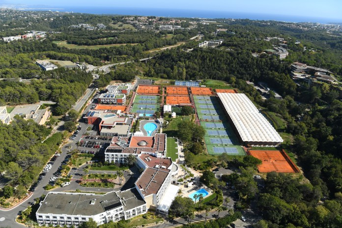 The Mouratoglou Academy is a base for many top players