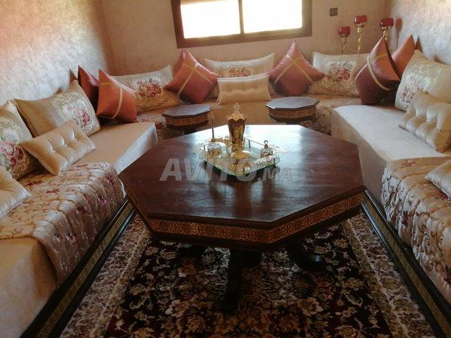 salon marocain moderne plus sejour
