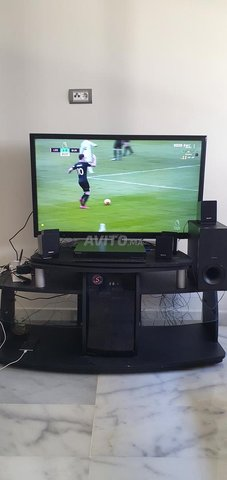 televiseur sony et home cinema sony et meuble tv