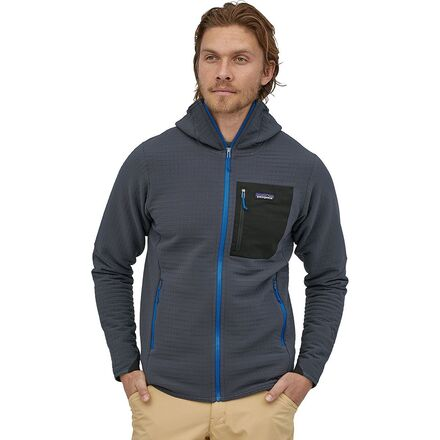 Patagonia R2 Techface Hoody - A Bomber Fleece Crosslayer 3