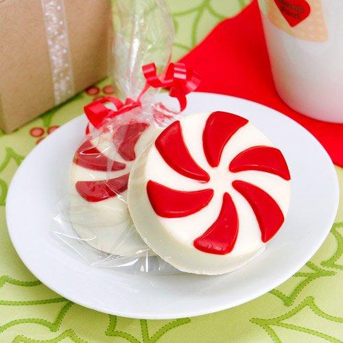 Christmas Chocolate Covered Oreo Cookie