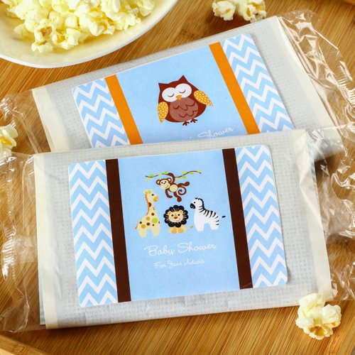 Baby Shower Microwave Popcorn Bags