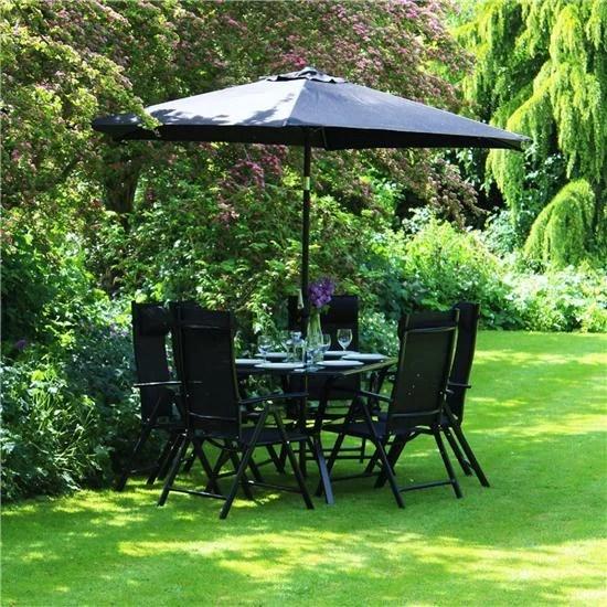 Garden Furniture 6 Seater Metal