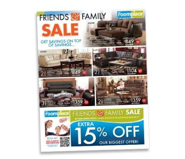 The RoomPlace Coupons:  Save 15% on Furniture