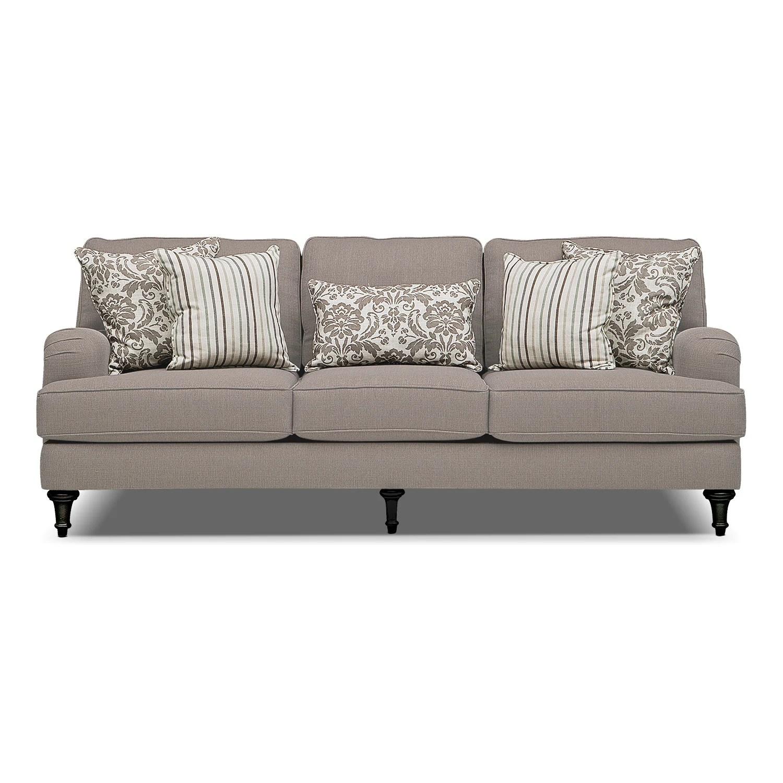 Candice Sofa Gray American Signature Furniture