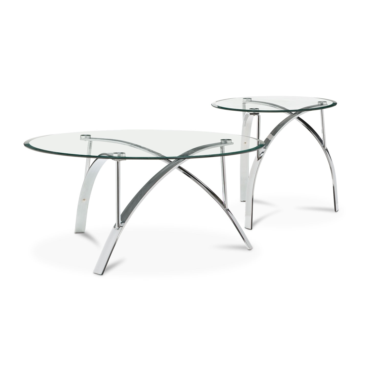 Mako Cocktail Table And End Table