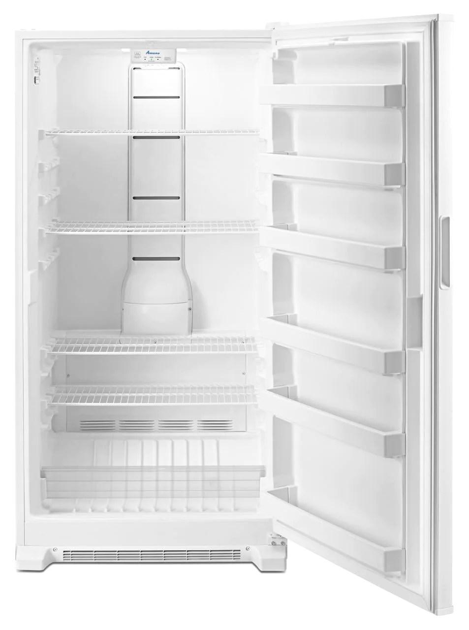 Amana White Upright Freezer 180 Cu Ft AZF33X18DW