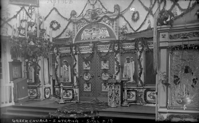 St  Michael s Cathedral interior  Sitka  Alaska   negative  Larger Image