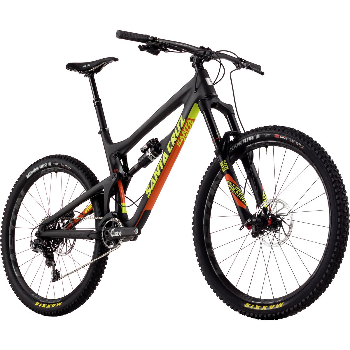 Santa Cruz Bicycles Nomad Carbon Cc Xx1 Complete Mountain