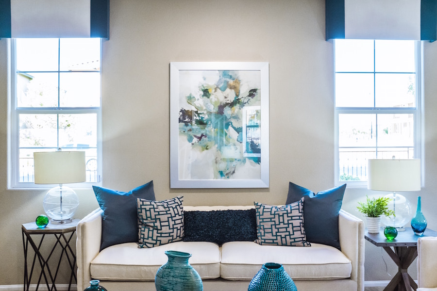 Spring Decor Themed Living Rooms