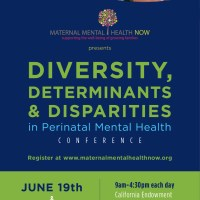 Register Today! Diversity, Determinants & Disparities in Perinatal Mental Health