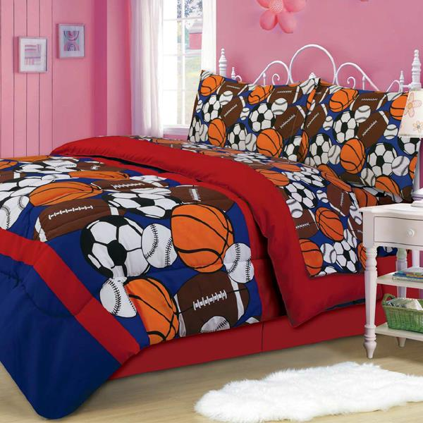 Sporty Mini Bed In A Bag Set