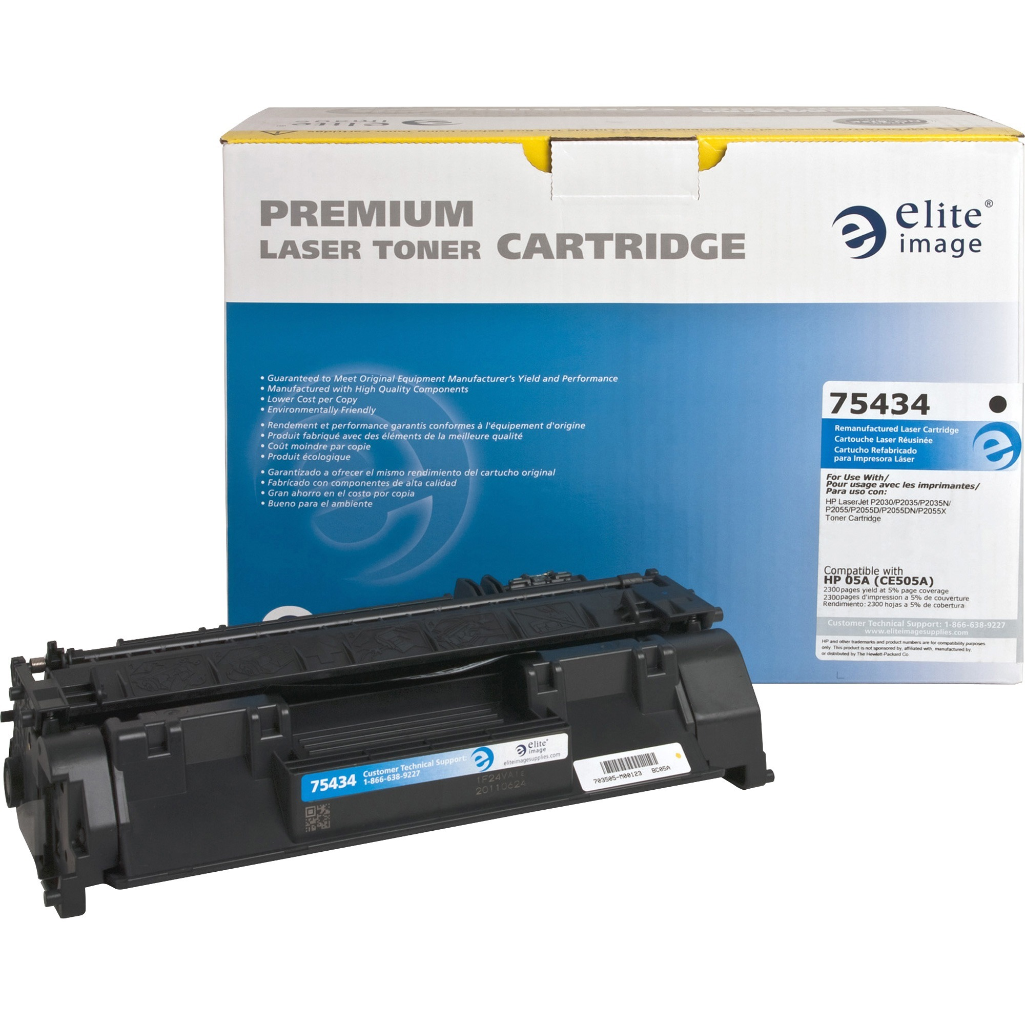 Product Eli75434 Elite Image Remanufactured Toner