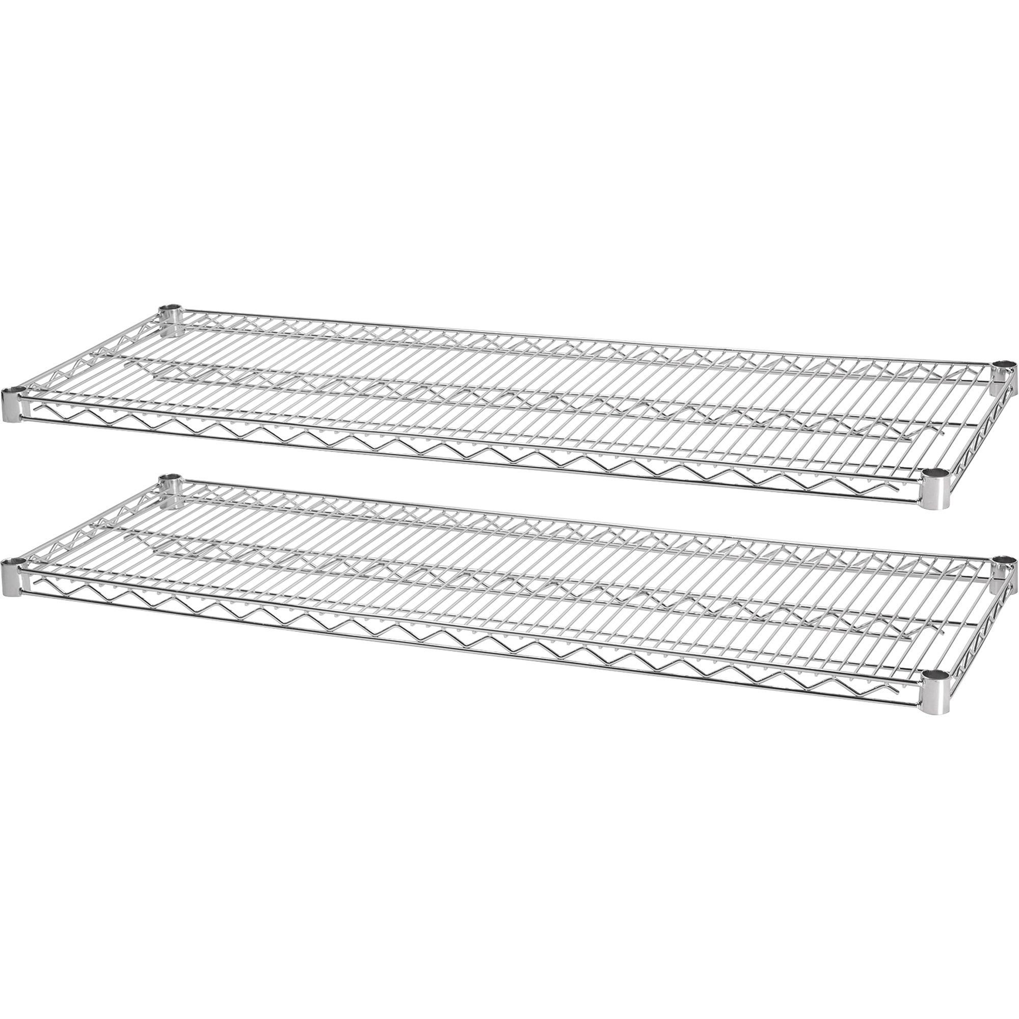 Lorell Indust Wire Shelving Starter Extra Shelves Llr