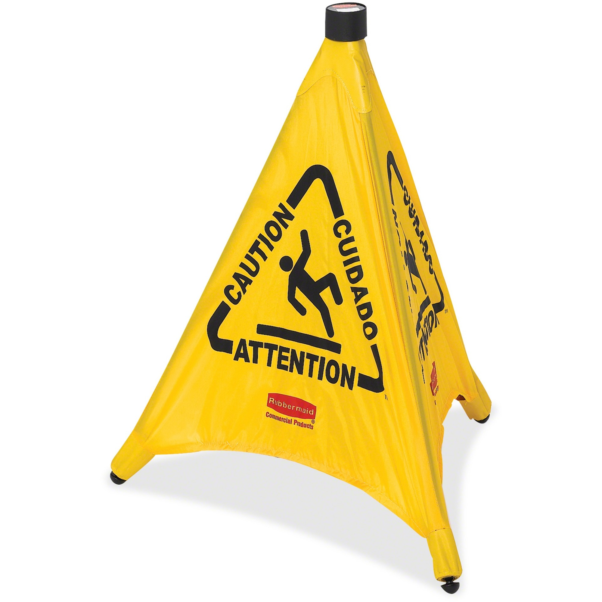Rubbermaid Commercial Caution Sign