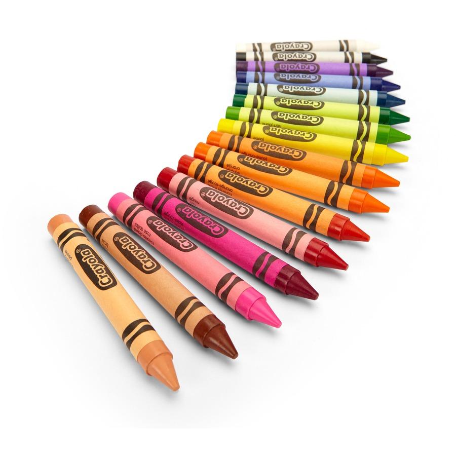 Crayola 16 Count Large Crayons Cyo