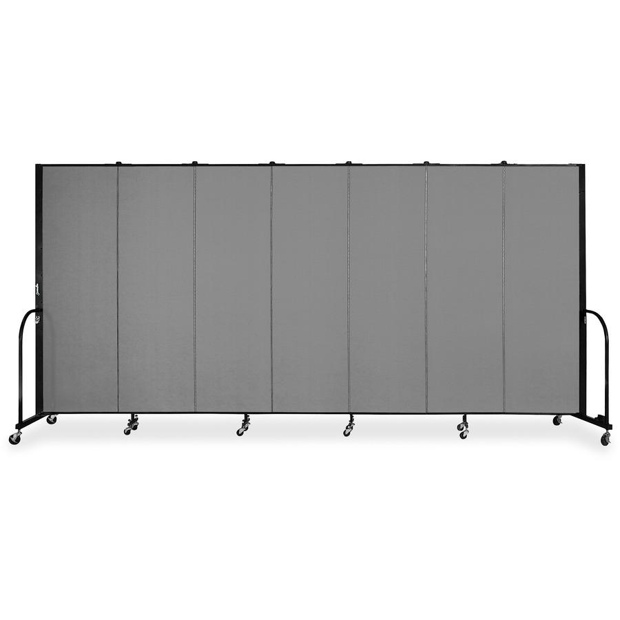 Screenflex Cfsl607dg Screenflex Freestanding 7 Panels Portable Partition Scxcfsl607dg Scx Cfsl607dg Office Supply Hut