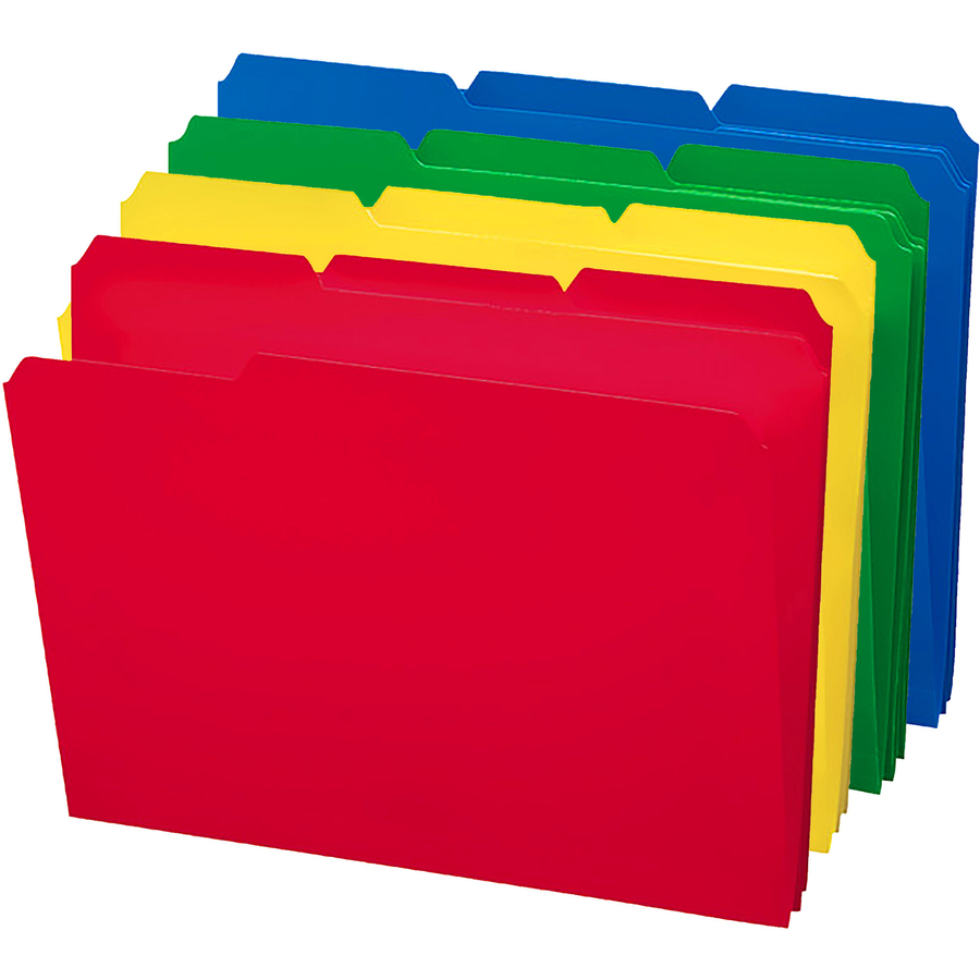 Smead Poly Colored Folders Smd