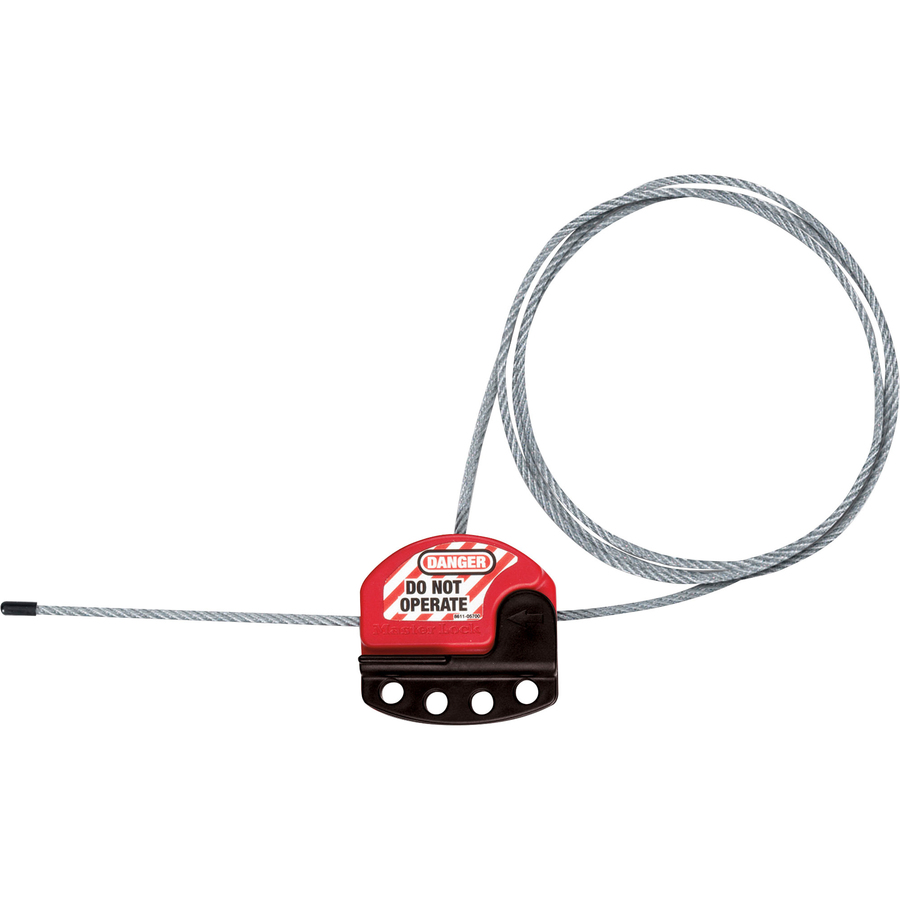 Master Lock Adjustable Cable Lockout