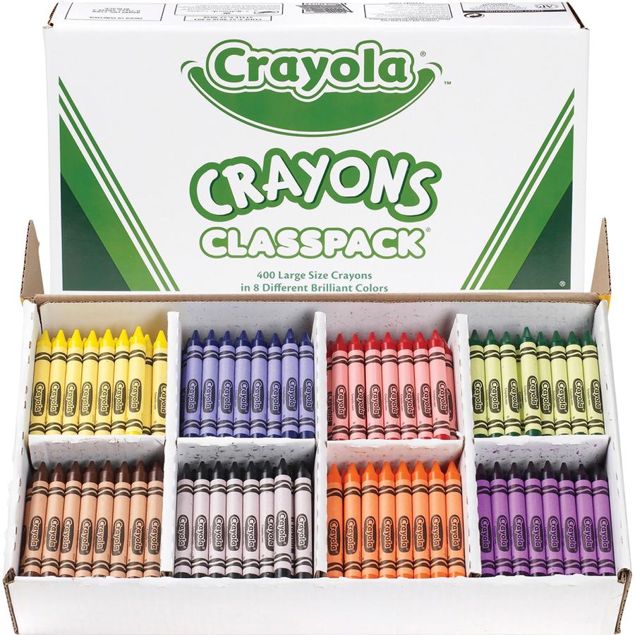 Crayola 8 Color Classpack Crayons