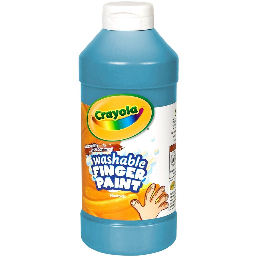 crayola finger activity paint 16 fl oz 1 each blue
