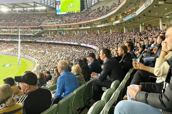 Aussie rules and our love for the game MCG fans