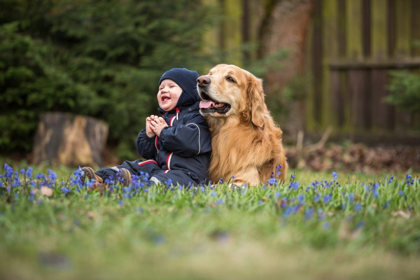 How having a pet can change your life baby and dog