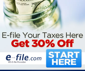 eFile Your Taxes Here Get 30% Off