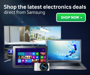 Latest Samsung electronic deals