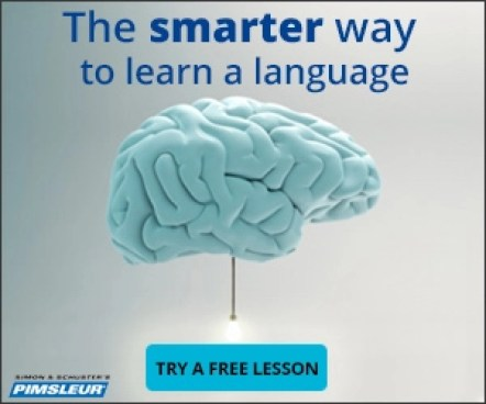 Pimsleur online language course to teach yourself a language