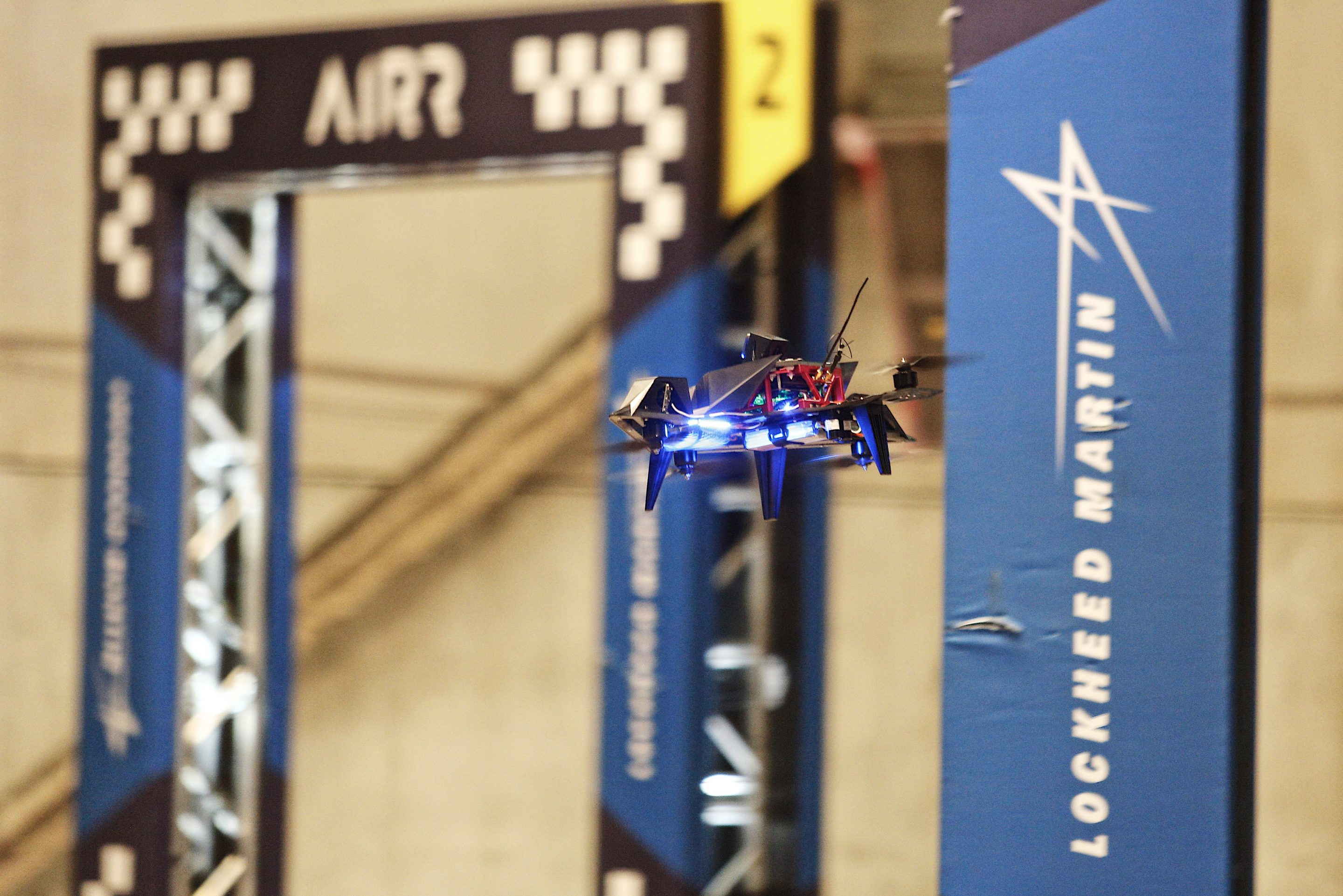 First Ever Pro Drone Race Gave an A.I.-Piloted Aircraft the $1 Million Grand Prize. But It Still Couldn't Beat a Human Pilot