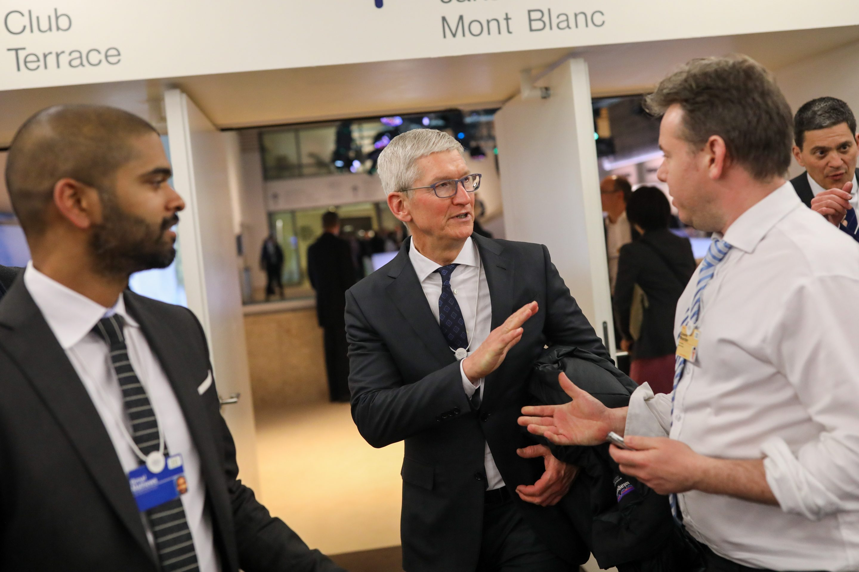It's okay for Tim Cook to go to Davos