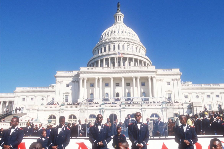 1995 Million Man March Washington DC