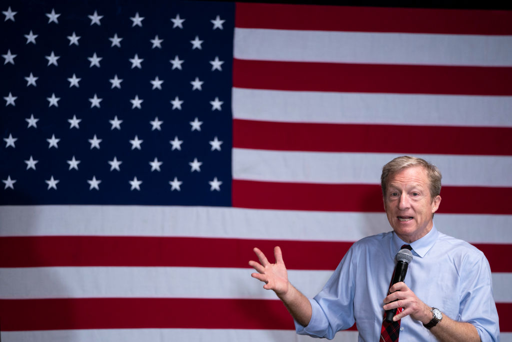 Tom Steyer: If businesses don't move on climate change, the U.S. will lose its global competitive edge