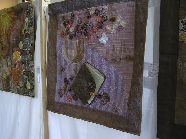 Моя работа в интерьере выставки :)