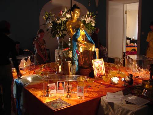 Выставка Священных буддийских реликвий в Москве.